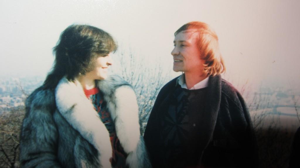 Владимир Мигуля со своей супругой
