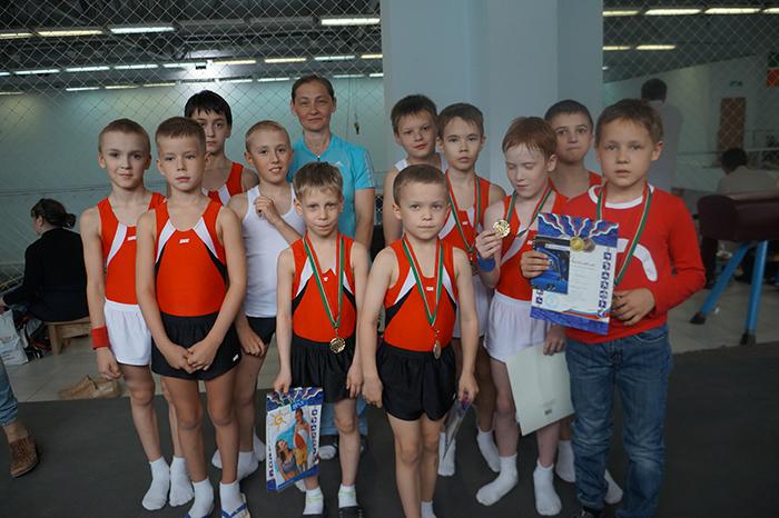 спортивной гимнастике
