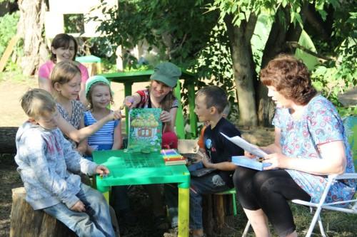 Елена Александровна Горбашкина и группа Лучик воскресной школы